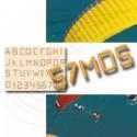 Kit Lettres pour immat ULM paramoteur