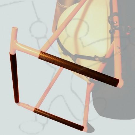 Base protective tubes chassis Miniplane