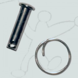 Pin for the launcher pulley