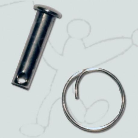 Sheave pin launcher