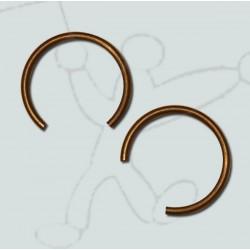 Piston rod springs