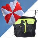Pack light rescue parachute