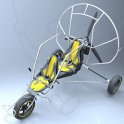 Paramoteur Adventure Funflyer2 chariot biplace