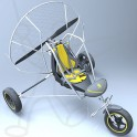 Paramoteur Adventure Funflyer2 chariot monoplace