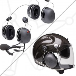 Pack helmet Rollbar and headset 3M-X5
