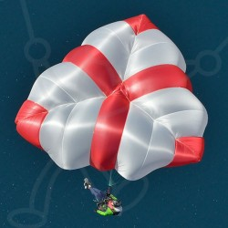 Rescue parachute X-Two