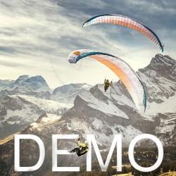 Paraglider ADVANCE PI 2 Demo