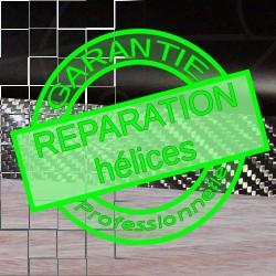 Service - réparation hélices carbon, fibre et bois