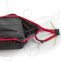 Advance rescue kit : Harness reserve handle and parachute inner container