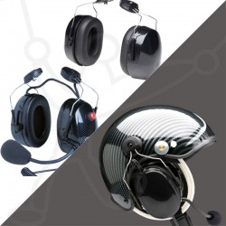 Pack casque Skyrider TZ + headset Eco Modul