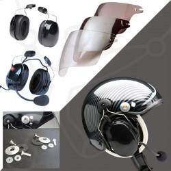 Skyrider TZ helmet pack + Eco Modul headset + visor