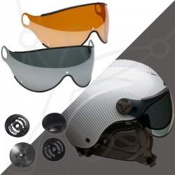 Pack Nerv helm ausgestattet shorts visier