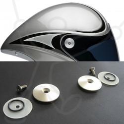 Visierbefestigungssystem für Icaro Helm 4Fight