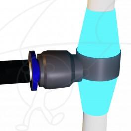 Kit Plastic Rod Fitting (4 units)