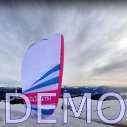 Paraglider ITV Wasabi demo