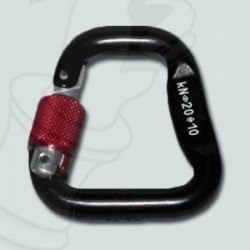 40mm auto snap carabiner