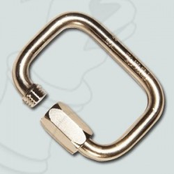 Stainless steel square carabiner 7mm