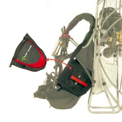 PARAMOTOR EVO lateral reserve parachute container